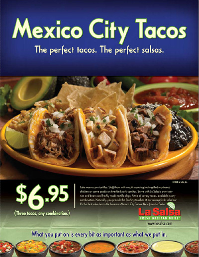 La Salsa - Mexico City Tacos