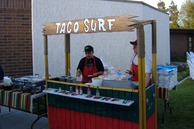 Taco Surf - Catering Stand