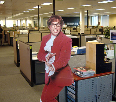 Austin Powers Cardboard Cutout