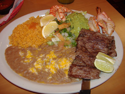 Azteca's - Steak and Shrimp