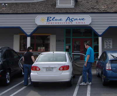 Blue Agave Exterior