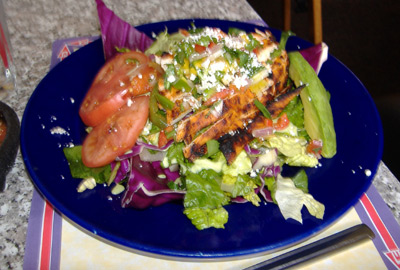 Blue Agave New Mexico Grilled Chicken Salad