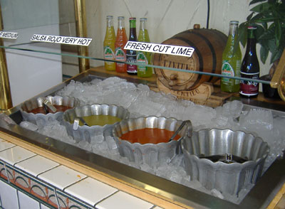 Cancun - Salsa Bar
