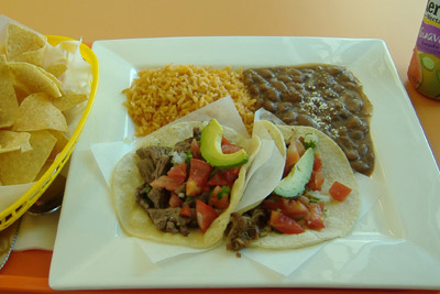 Cancun Fresh Mexican Grill - Taco Platter