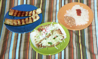 California Fish Grill - Fish Taco Meal Deal plus Grilled Zucchini