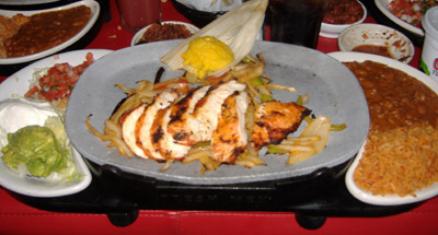Chevys - Chicken Fajitas
