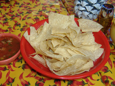 Chili Pepper - Chips and Salsa