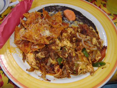 Chili Pepper - Machaca with Carnitas