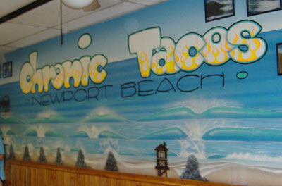 Chronic Tacos - Wall Painting