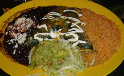 El Cholo Cantina - Blue Corn Chicken Enchiladas