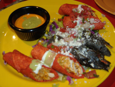 El Torito Grill - Chicken and Shrimp Taquitos
