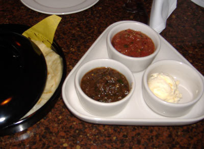 El Torito Grill - Tortillas and Salsa