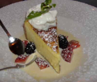 El Torito Grill - Creme Brulee Cheesecake