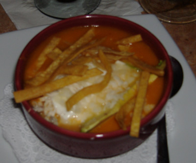 Gabbi's Mexican Kitchen Chicken Tortilla Soup