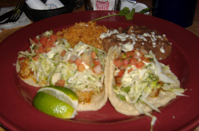 Gabbi's Mexican Kitchen - Shrimp Tacos