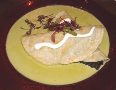 Gabbi's Mexican Kitchen - Quesadillas de Huitlacoche