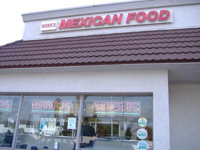 Hank's Mexican Food - Exterior