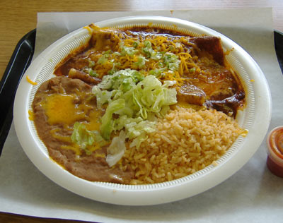 Hank's Mexican Food - Enchiladas