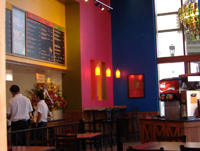 La Salsa - Interior Shot