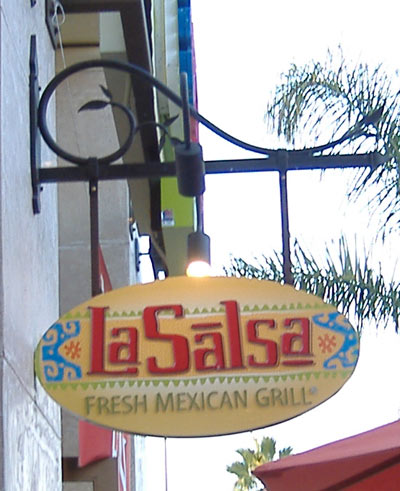 La Salsa - Hanging Sign