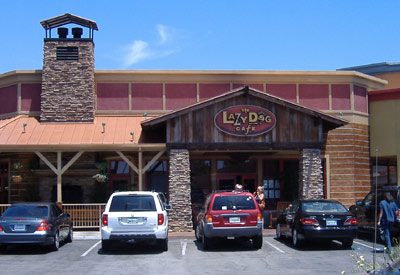 Lazy Dog Cafe - Exterior