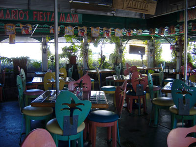 Mario's Fiesta Maya - Open Air Seating