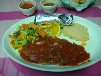 Mario's Fiesta Maya - Chipotle Red Snapper