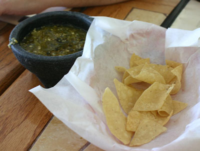 El Moctezuma #3 - Chips and Salsa