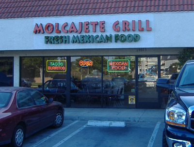 Molcajete Grill - Exterior