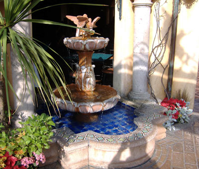 Rancho del Zocalo - Fountain