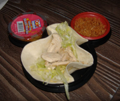 Rancho del Zocalo - Kid's Meal