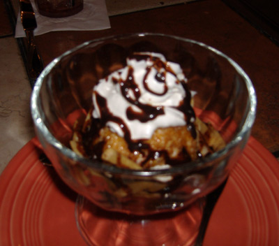 Rose Canyon Cantina and Grill - Deep-fried Ice Cream