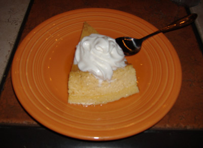 Rose Canyon Cantina and Grill - Flan