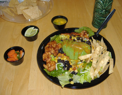 La Salsa's Chipotle Shrimp Salad