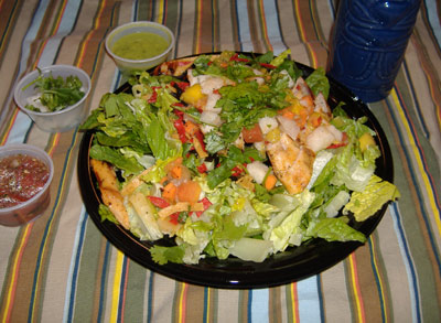 El Pollo Loco's Tropical Pollo Salad