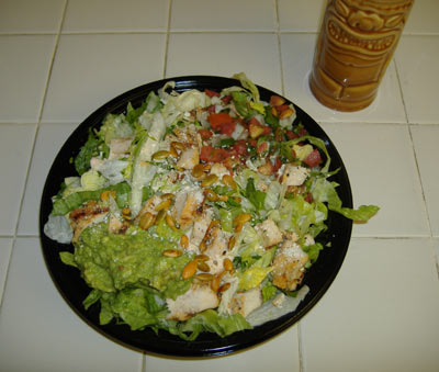 Rubio's Chipotle Ranch Salad