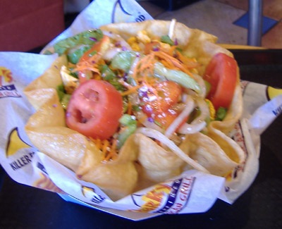 Sharky's Tostada Salad