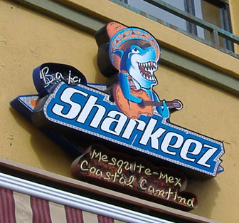 Sharkeez - Sign
