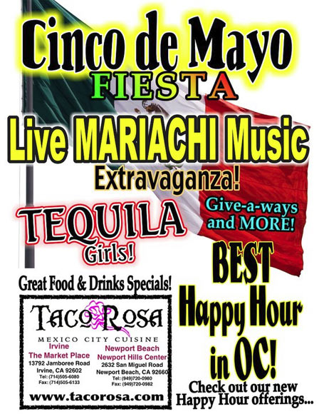 Cinco de Mayo at Taco Rosa