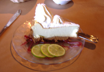 Tia Juana's Lime Cheesecake