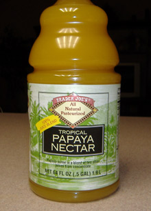 Trader Joe's - Papaya Nectar