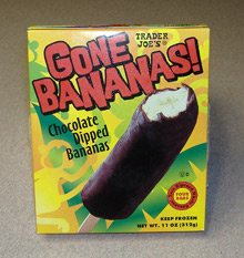 Trader Joe's - Chocolate-dipped Bananas