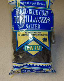 Trader Joe's - Blue Corn Tortilla Chips