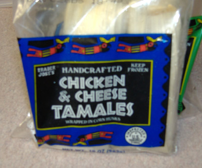 Trader Joe's - Chicken and Cheese Tamales