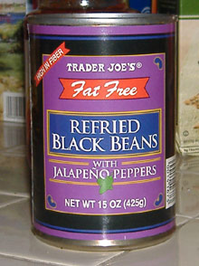 Trader Joe's - Refried Black Beans
