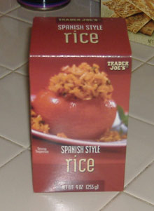 Trader Joe's - Spanish Rice