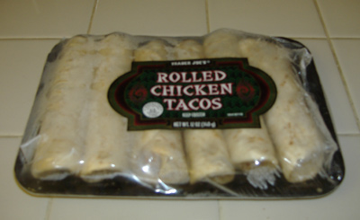 Trader Joe's - Rolled Chicken Tacos