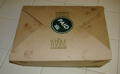 Whole Foods Market - Takeout Box